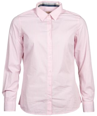 Women's Barbour Breedon Shirt - Pink / White
