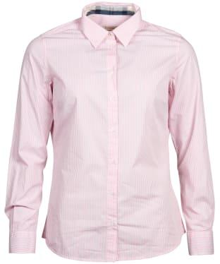 Women's Barbour Breedon Shirt - Pink / White