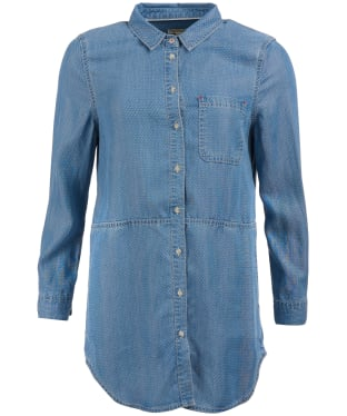 Women's Barbour Sailboat Shirt - Lt Wash Denim