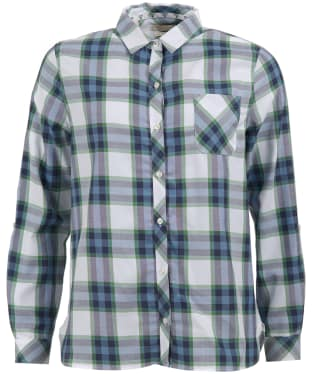 Women's Barbour Littlehampton Shirt - Navy / Clover