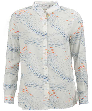 Women's Barbour Pebble Shirt - Off White