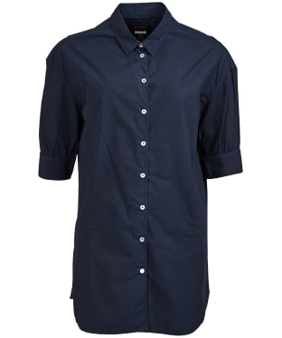 Women's Barbour Allanton Shirt - Navy