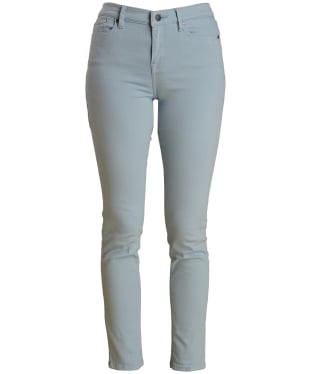 Women's Barbour Essential Slim Trousers - Powder Blue