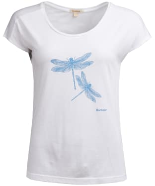 Women's Barbour Wansfell Tee - White