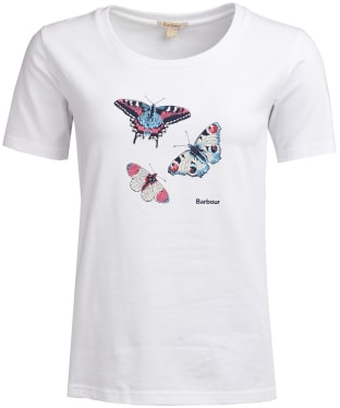 Women's Barbour Wetherlam Tee - White