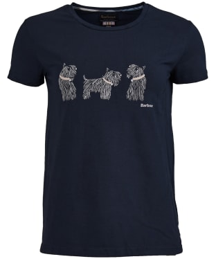 Women's Barbour Greyfriars Tee - Navy