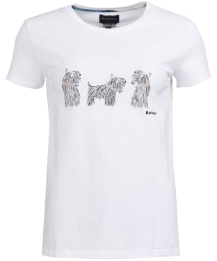 Women's Barbour Greyfriars Tee - White