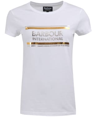 Women's Barbour International Backflag Tee