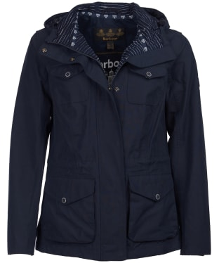 Women's Barbour Appin Waterproof Jacket - Navy