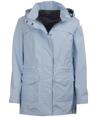 Women's Barbour Dalgetty Waterproof Jacket - Powder Blue