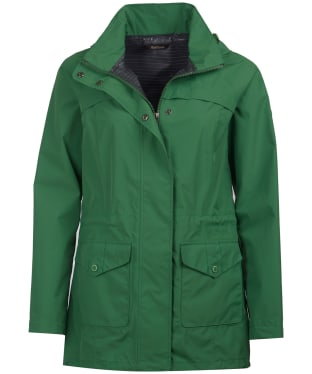 Women's Barbour Dalgetty Waterproof Jacket - Clover