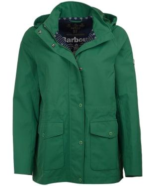 Women's Barbour Backshore Waterproof Jacket - Clover