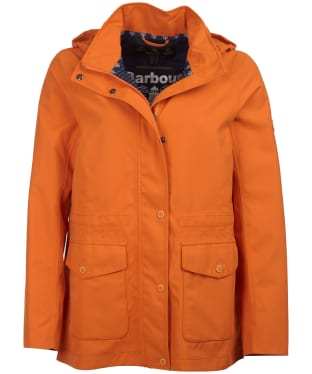 Women's Barbour Backshore Waterproof Jacket - Marigold