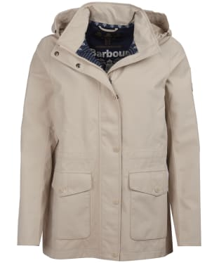 Women's Barbour Backshore Waterproof Jacket - Mist