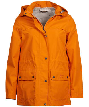 Women's Barbour Drizzel Waterproof Jacket - Marigold