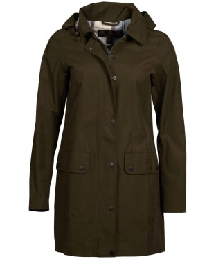 Women's Barbour Undertow Waterproof Jacket - Olive
