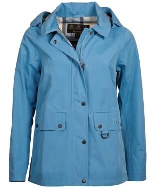 Women's Barbour Tramontane Waterproof Jacket - Blue Heaven