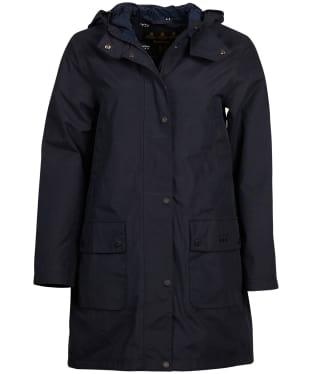 Women's Barbour Barogram Waterproof Jacket - Navy