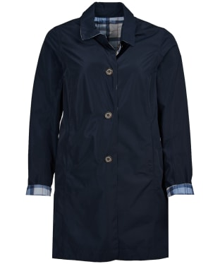 Women's Barbour x Sam Heughan Babbity Waterproof Jacket - Navy