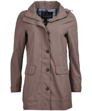 Women's Barbour Backwater Waterproof Jacket - Soft Gold
