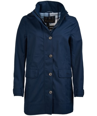 Women's Barbour Backwater Waterproof Jacket - Navy