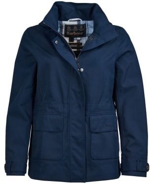 Women's Barbour Retreat Waterproof Jacket - Navy