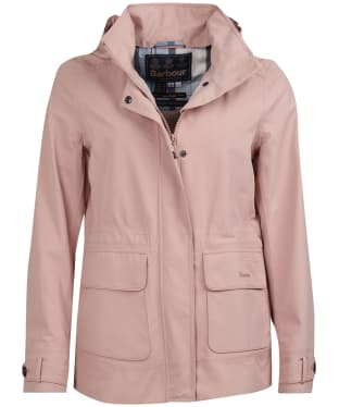 Women's Barbour Retreat Waterproof Jacket - Pale Pink