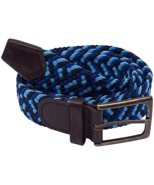 Men's Barbour Ford Belt - Blue / Blue
