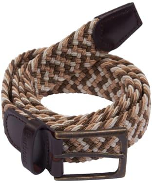 Men's Barbour Ford Belt - Stone