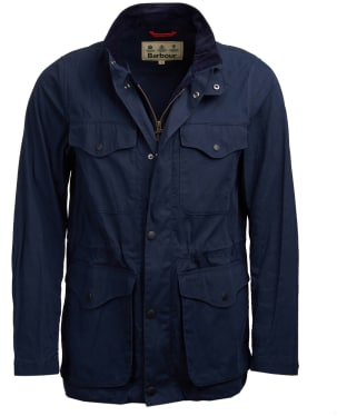 Men's Barbour Skipton Casual Jacket - Navy