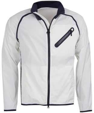 Men's Barbour International Optic Covalnt Casual Jacket - White