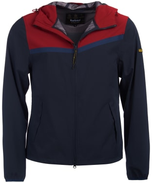 Men's Barbour International Sevens Casual Jacket - Biking Red
