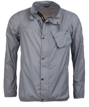 Men's Barbour International Dene Casual Jacket - Soft Grey