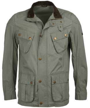 Men's Barbour International Tees Ripstop Casual Jacket - Military Green