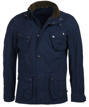 Men's Barbour International Tees Ripstop Casual Jacket - Navy