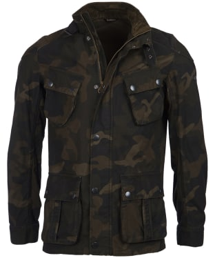 Men's Barbour International Washed Camo Jacket