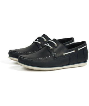 Men's Barbour Capstan Boat Shoes - Navy
