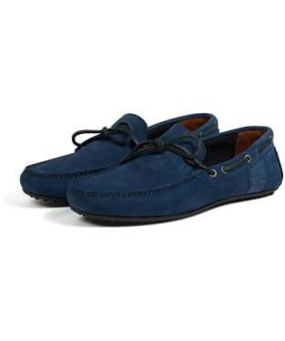 Men's Barbour Eldon Suede Shoes - Blue