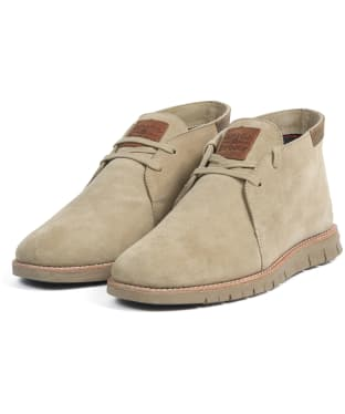 Men's Barbour Boughton Chukka Boot - Stone