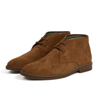 Men's Barbour Kalahari Desert Boots - Brown Suede