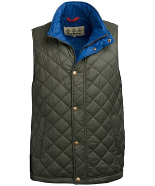 Men's Barbour Ampleforth Quilted Gilet - Olive