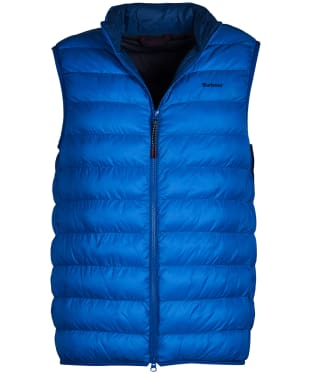 Men's Barbour Crone Gilet - Frost Blue