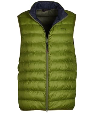 Men's Barbour Crone Gilet - Vintage Green