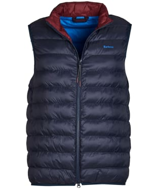 Men's Barbour Crone Gilet - Navy