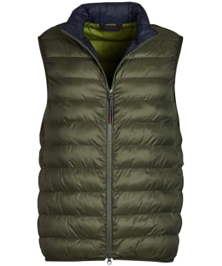 Men's Barbour Crone Gilet - Olive