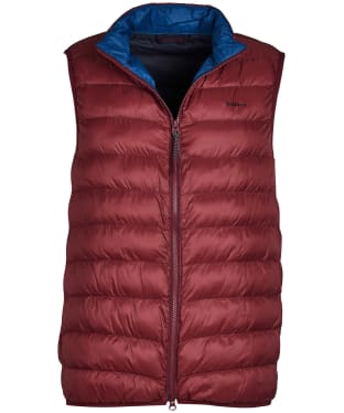 Men's Barbour Crone Gilet - Ruby