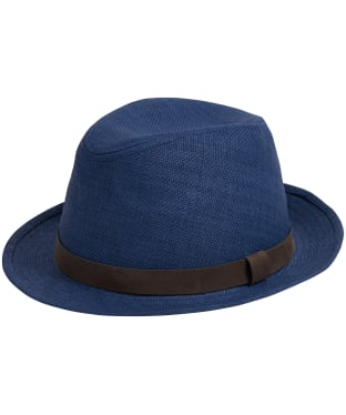 Men's Barbour Emblem Trilby Hat - Navy