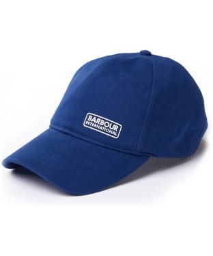 Men's Barbour International Norton Drill Cap - Inky Blue