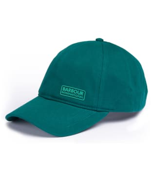 Men's Barbour International Norton Drill Cap - Rich Green