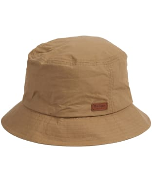Men's Barbour Irvine Wax Sports Hat - Mid Khaki